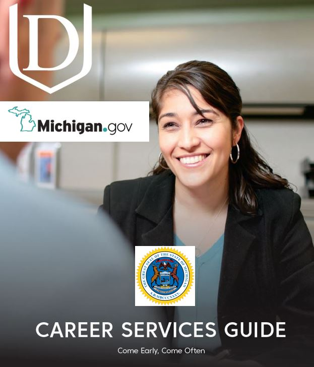 State of Michigan 2019-20 Annual Career Services Guide Ad